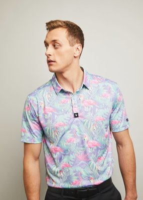 Bad Birdie Bad Birdie Mingos Men's Polo