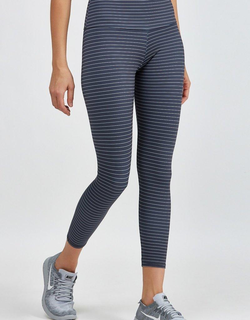 Onzie Onzie Striped High Basic 7/8 Midi Legging