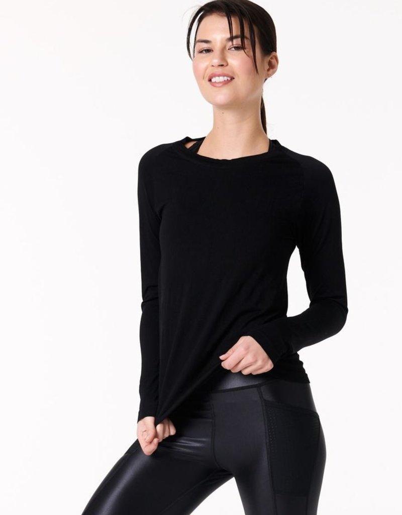 NUX NUX Sleek Long Sleeve Top