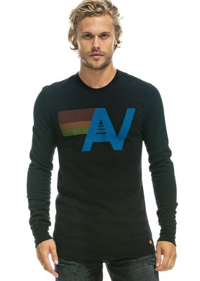 Aviator Nation Aviator Nation Logo Thermal Long Sleeve