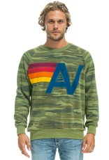 Aviator Nation Aviator Nation Stitched Logo Crew Sweatshirt
