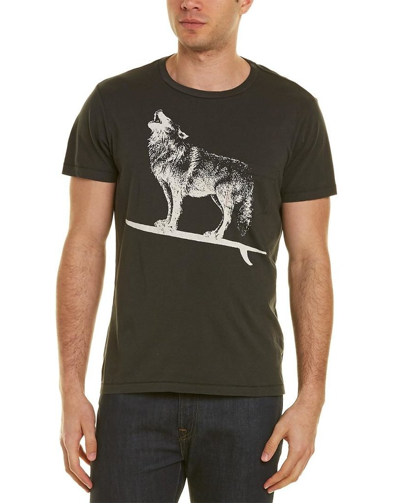 Sol Angeles Sol Angeles Wolf Rider Graphic Pocket Tee