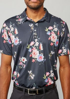 Bad Birdie Bad Birdie Wildflowerz Men's Polo