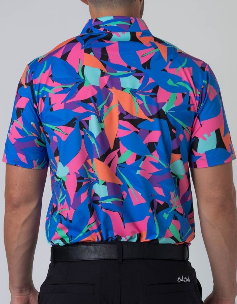 Bad Birdie Bad Birdie Punch Out Men's Polo