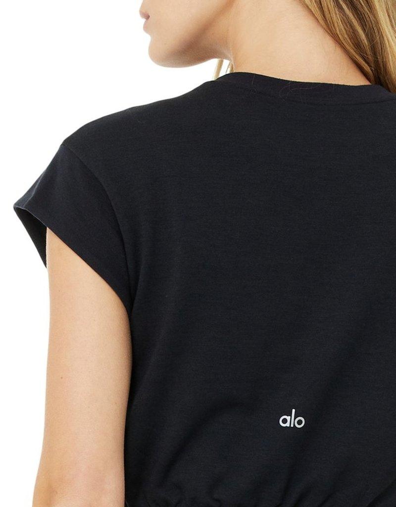 Alo Alo Dreamy Crop Short Sleeve