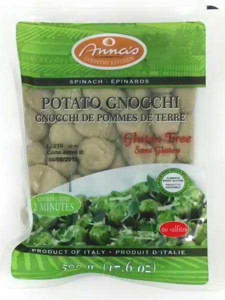 Anna's Gnocchi Anna's Gluten Free Spinach Gnocchi