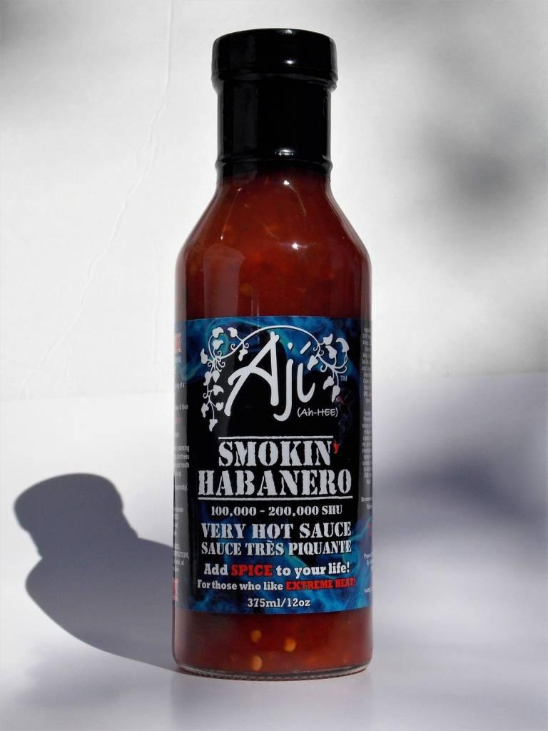 Aji Gourmet Products Aji Smokin Habenero Hot Sauce
