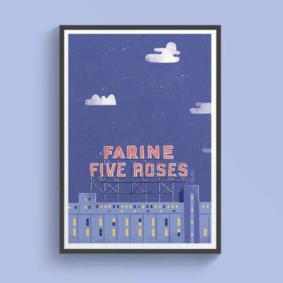 Elaillce - Farine Fiveroses