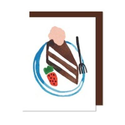 Paperole Choco Cake carte