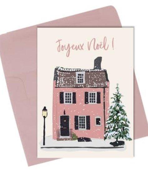 Lili Graffiti Home Joyeux Noël  - Greeting card