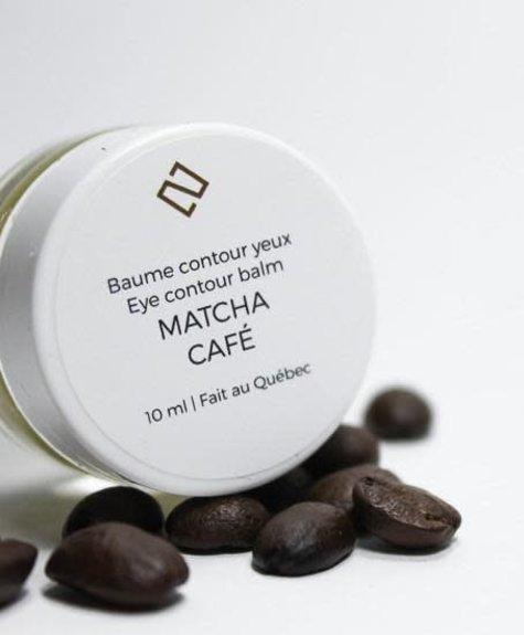 Deux Cosmétiques Baume contour des yeux Matcha-Café