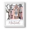 Montréal - Plateau Affiche
