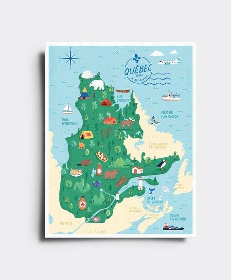 Elaillce Québec  Carte postale