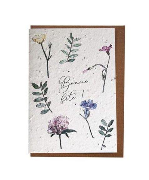 Lili Graffiti Birthday wishes (seeded) Greetings card
