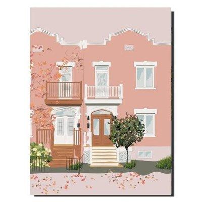 Carnet façade #4