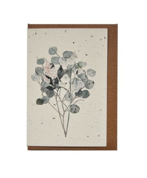 Lili Graffiti Botany (seeded) Greetings card