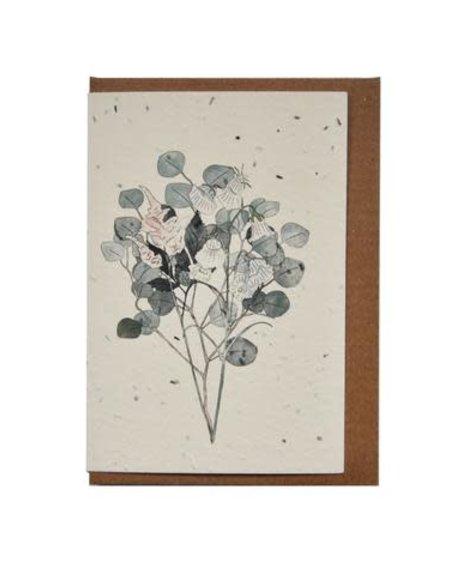 Lili Graffiti Carte - Botanique (ensemencé) - Carte de souhaits