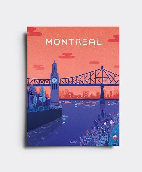 Elaillce Vieux port Montréal - Carte postale