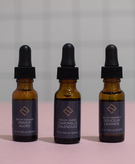 Sérum Papaye-Aloes  - Deux cosmétiques