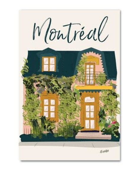 Lili Graffiti Montréal Été - Carte  postale