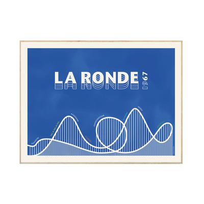 Illu La ronde 18x24 (bleue)