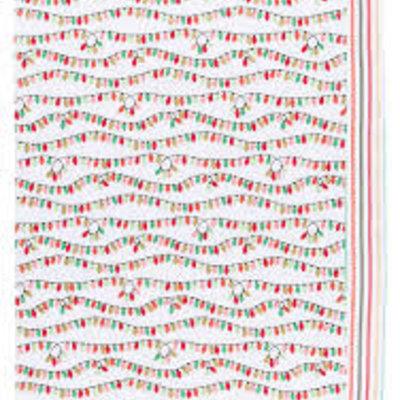 Danica Dish towels - Christmas garlands