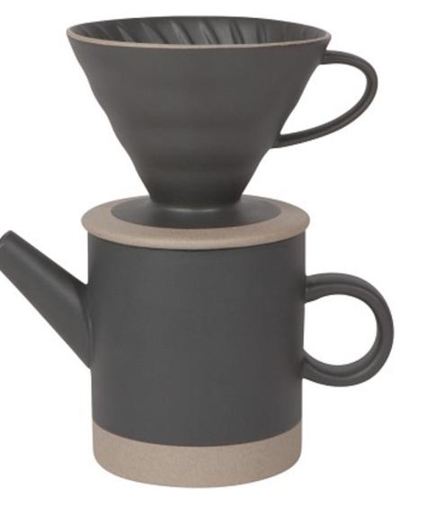 Ensemble café contour - charcoal