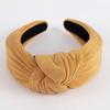 Bandeau texturé avec noeud femme Faire