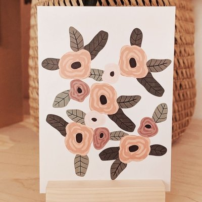 Carte Mimi - Fleurs