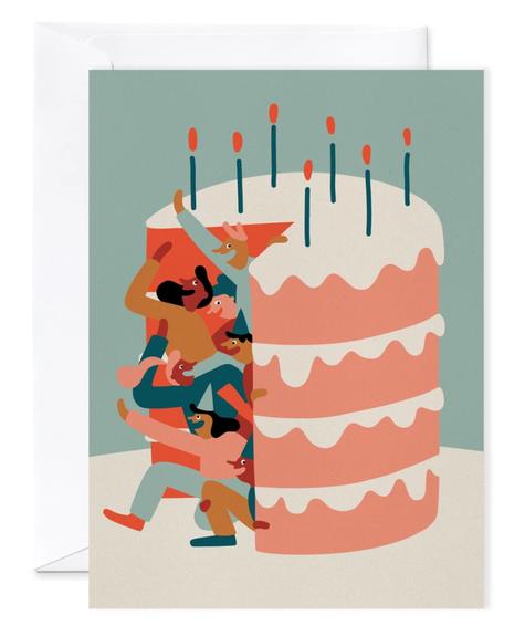 Paperole Carte géante - Anniversaire Surprise