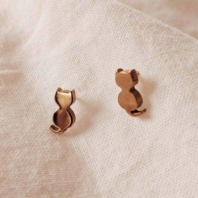 Boucles d'oreilles - Chats