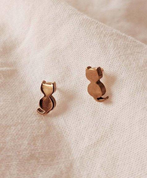 Mimi - Auguste Earrings Mimi - Cats