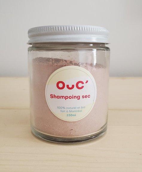 Les produits de Maya Organic and natural dry shampoo