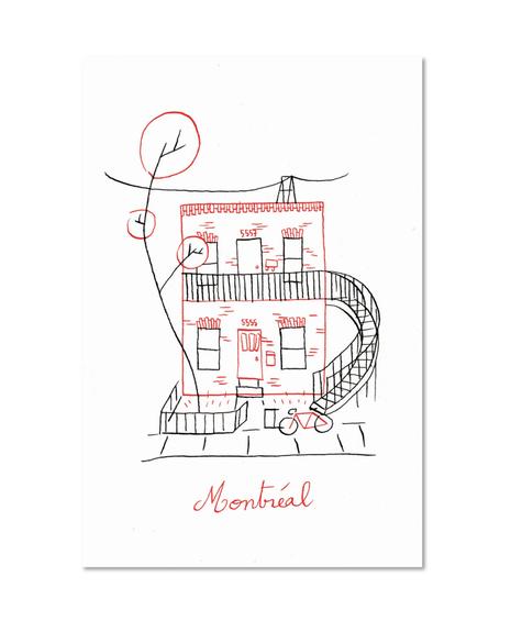 Carte postale - Duplex