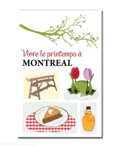 Carte postale - Printemps