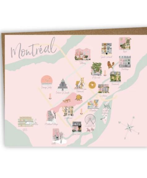 Carte - Montréal