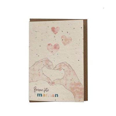 Carte - Maman (ensemencée)