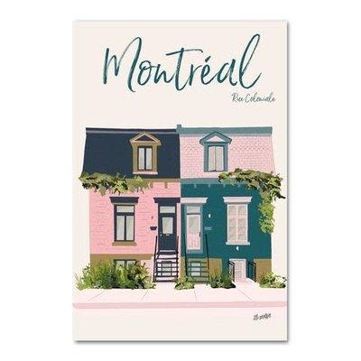 Lili Graffiti Montreal Coloniale