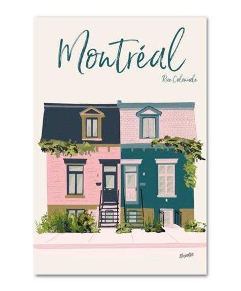 Lili Graffiti Montreal Coloniale - Postcard
