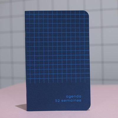 Agenda Archipel Bleu (Quadrillé bleu)
