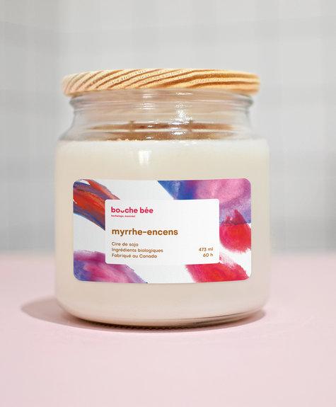 BB Myrrh-Incens candle