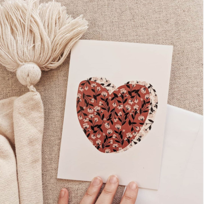 Carte Mimi - Coeur