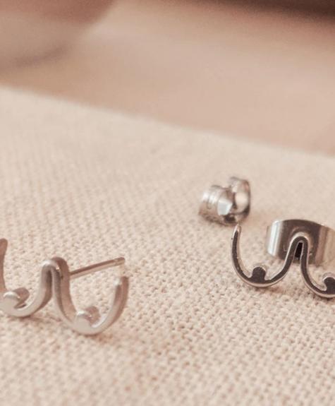 Mimi - Auguste Earrings Mimi -  Boobs  silver