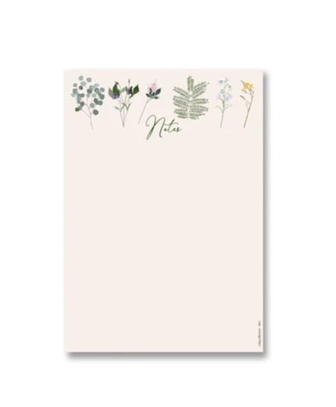 Lili Graffiti Notepad - Botanical