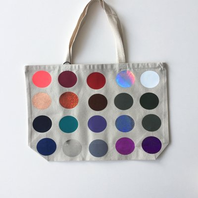Large Totebag polka dots