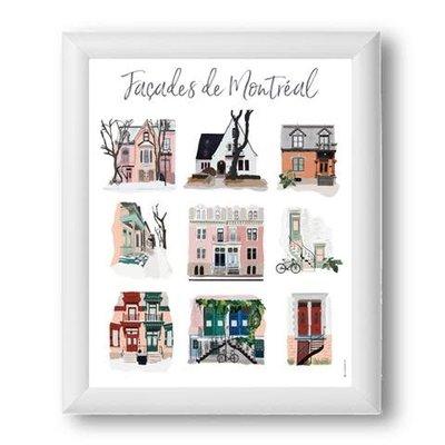 Illustration Montréal - Façades