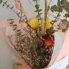 Elle aime les fleurs Bouquet fleurs séchées