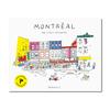 Paperole Cahier de coloriage - Montréal