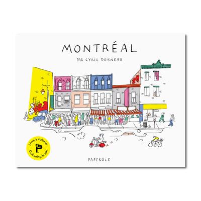 Cahier de coloriage - Montréal - Paperole