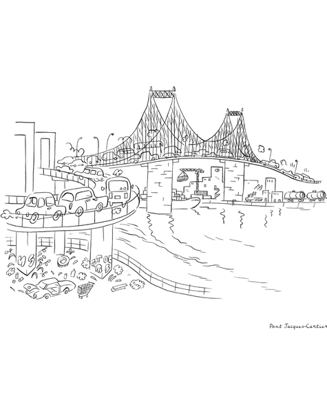 Paperole Coloring book - Montreal